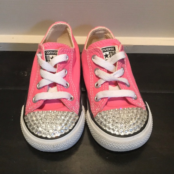 201050bb88ba Converse Other - Converse toddler bedazzled shoes